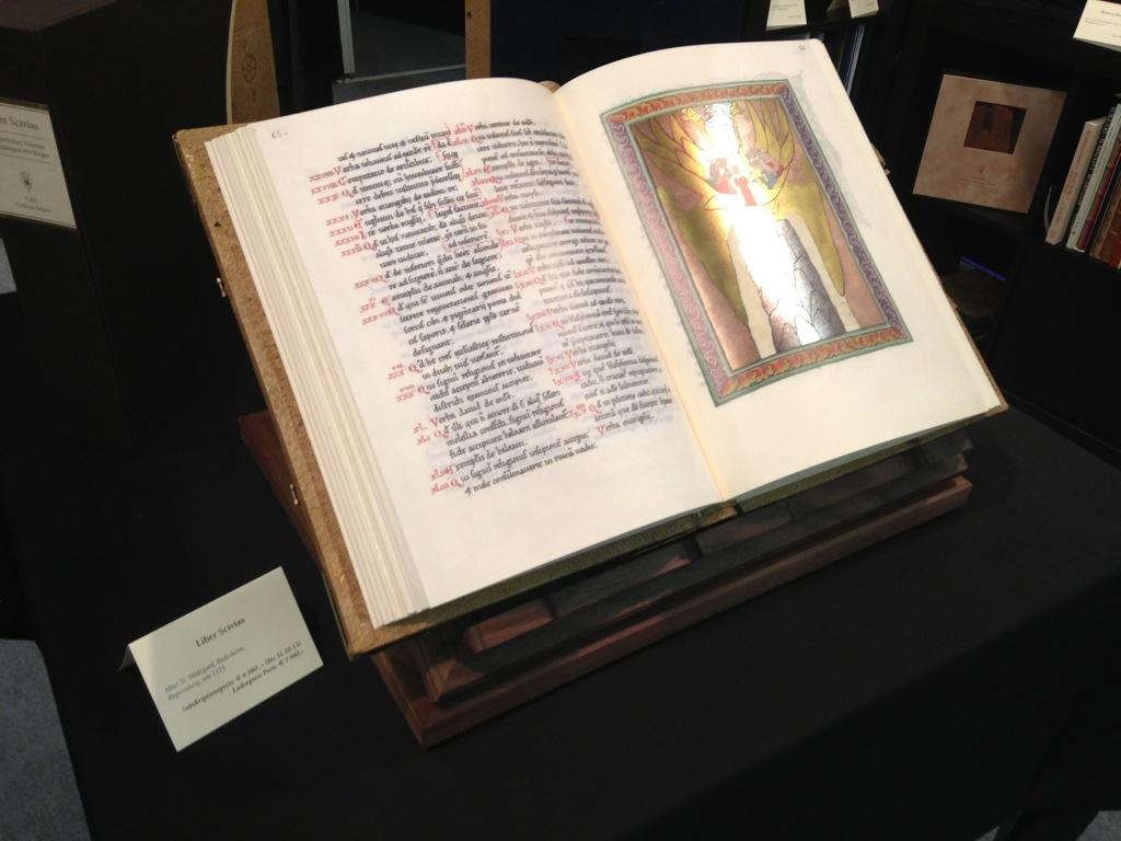 Liber Scivias, by Hildegard von Bingen. Facsimile edition.