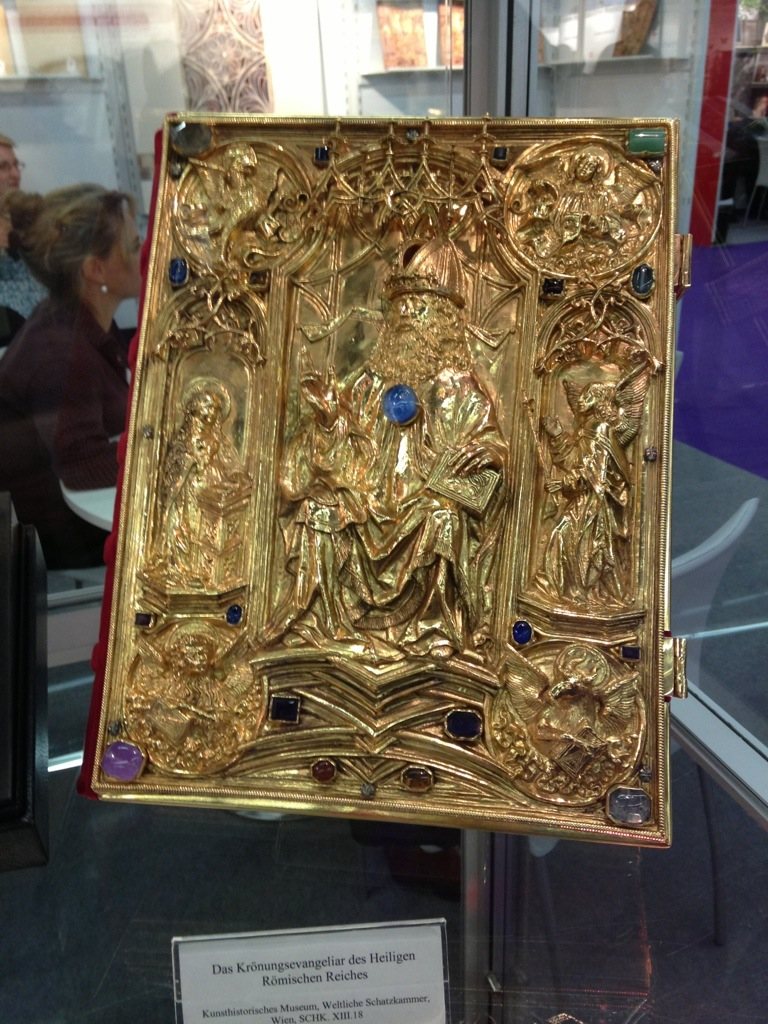 Vienna Coronation Gospels, facsimile edition.