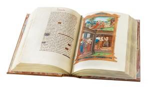 Les Triomphes de Petrarque, Cod. 2581 at the Österreichischen Nationalbibliothek (Vienna, Austria), photo of the facsimile edition by UTET-De Agostini
