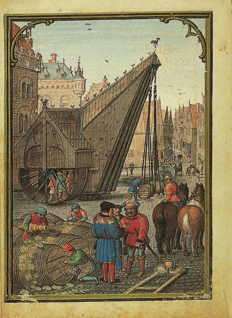 Illuminated page from Simon Bening's Flemish Calendar