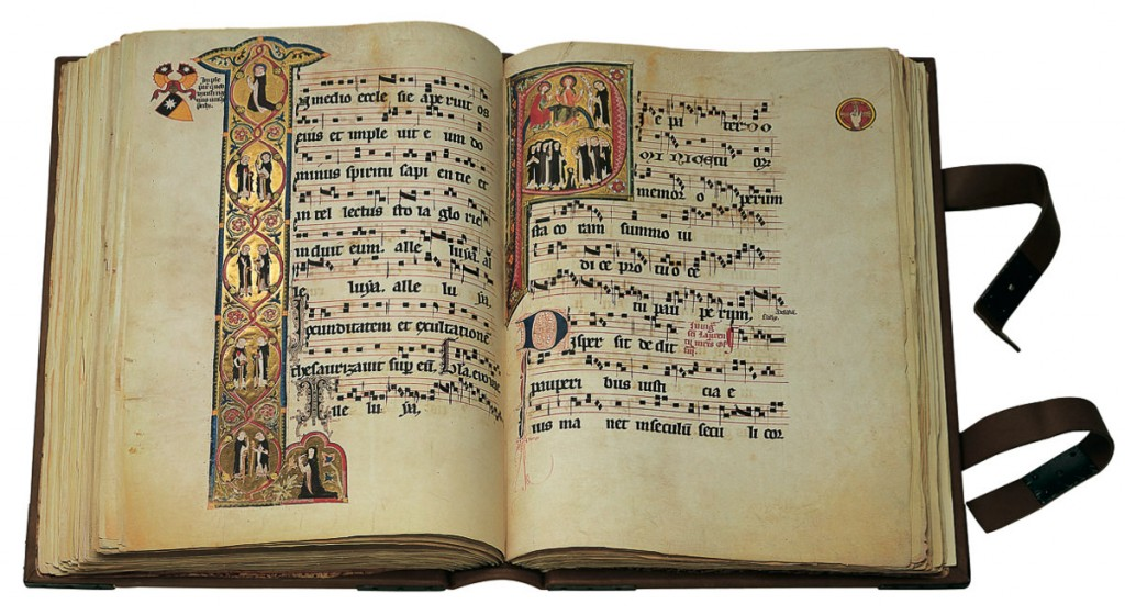 Page from the Gradual of St. Katharinenthal