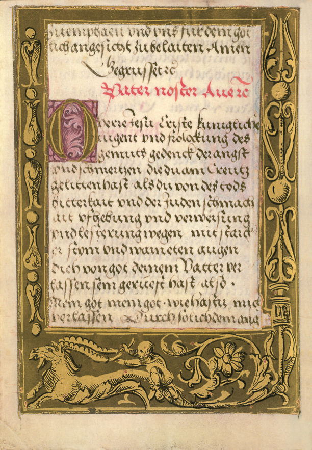 German Prayer Book of the Margravine of Brandenburg