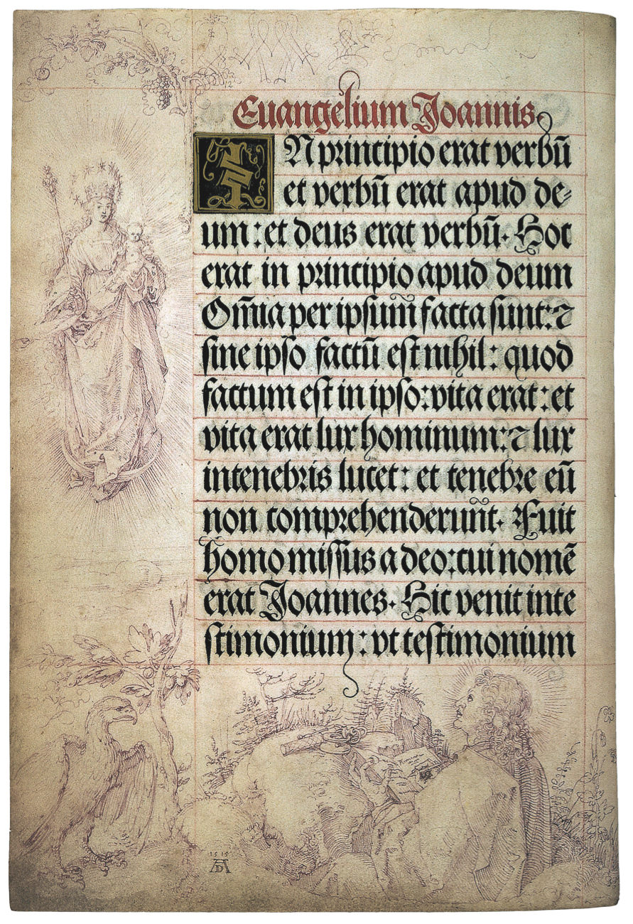 Page from the Prayer Book for the Emperor Maximilian I.