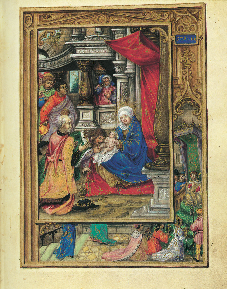 The Adoration of the Magi, from the Glockendon Hours