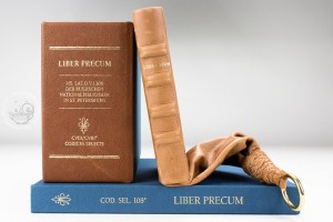 Liber Precum, set of facsimile edition, commentary volume and protective case
