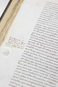 Beatus of Liébana, Berlin Codex: neat Beneventan script