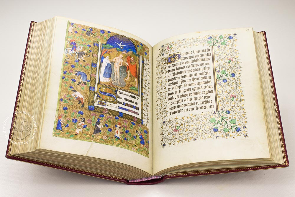 Book of Hours of Marguerite d'Orléans, facsimile edition: John the Baptist