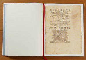 Galileo: The Starry Messenger facsimile by Levenger Press