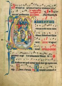 Assumption of the Virgin page fol. 137v
