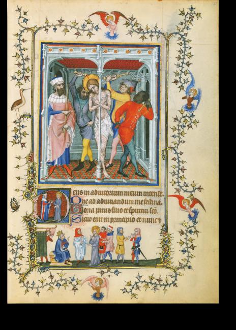 p. 197: Passions-Terz: Die Geißelung Christi