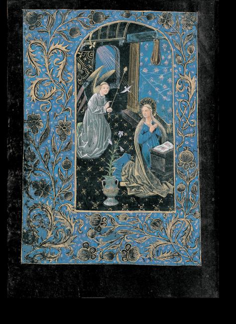 Fol. 29v: Mariä Verkündigung