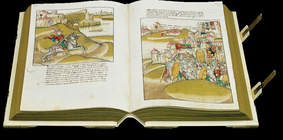 S. 248/49: Beginn des Laupenkrieges 1339 zwischen Bern und einer breiten Koalition Adeliger.