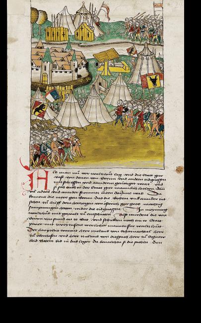 S. 29: Die Belagerung von Waldshut durch die Eidgenossen