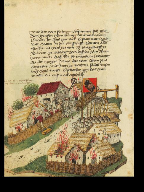 p. 208: Die Berner verwüsten das Schwarzenburger Land als Rache für deren Unterstützung der Freiburger beim Raubzug auf den Längenberg.