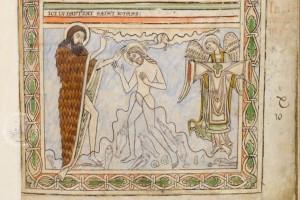 Baptism of Christ (fol. 16r)