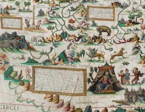 Descelier's 1550 map