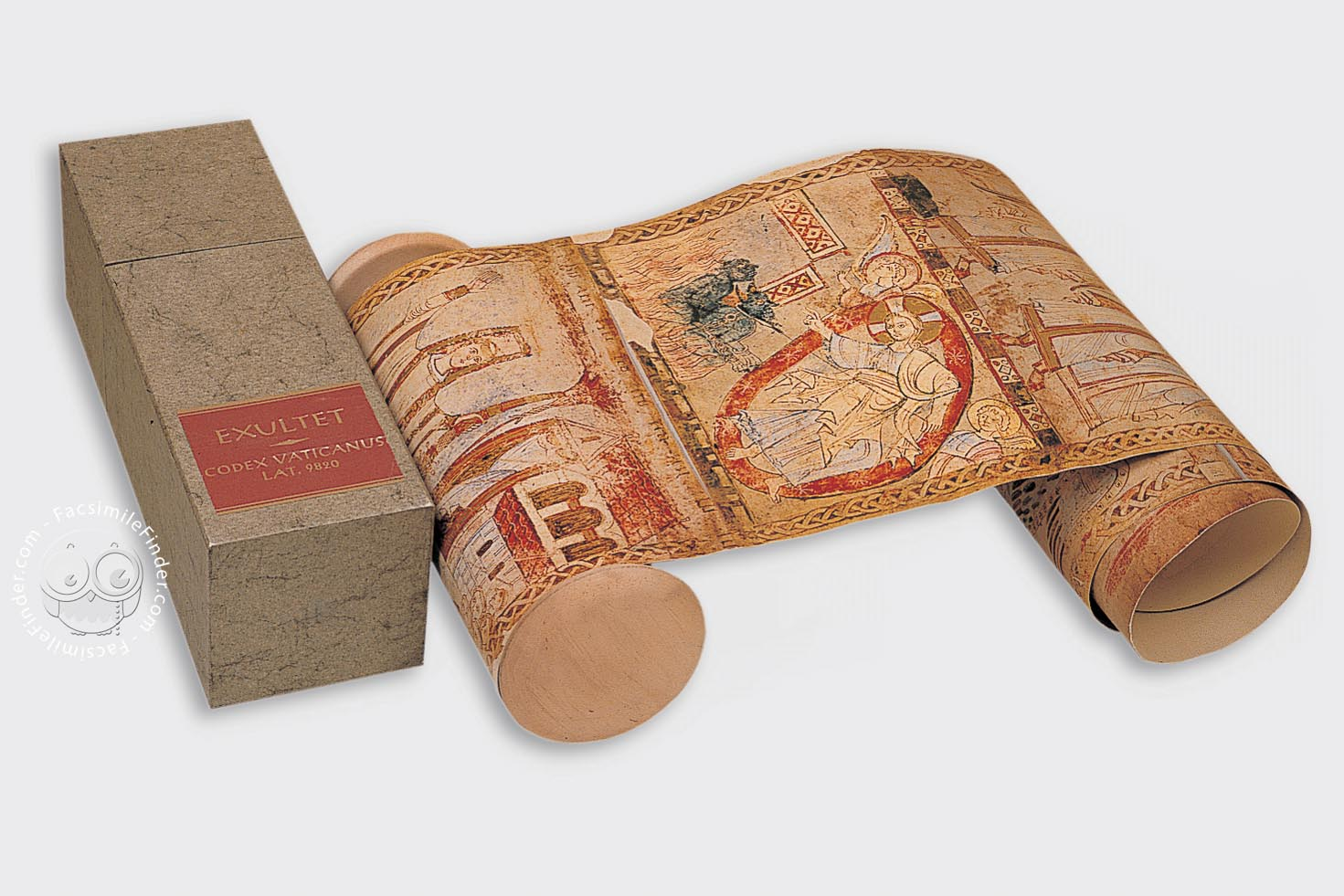 Awesome Scroll Facsimile: The Exultet Rolle
