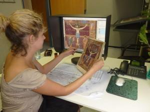Faksimile Verlag: prepress of Coronation Gospels Facsimile Edition