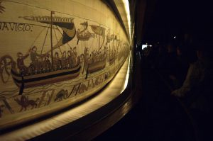 Bayeux Tapestry in the Bayeux Museum