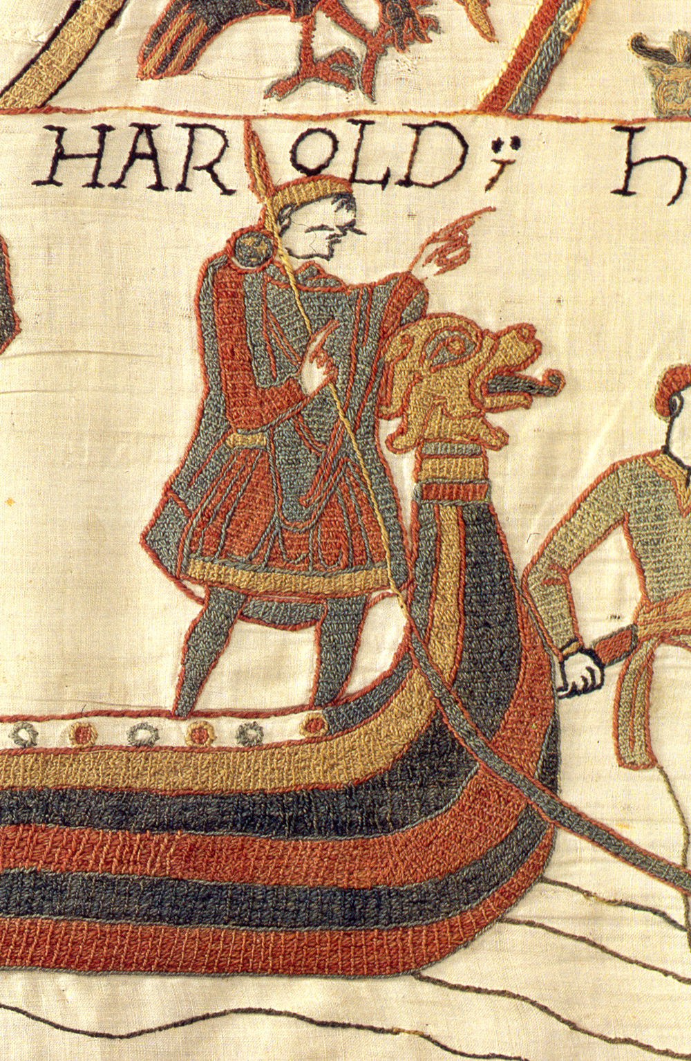 King Arold in the Bayeux Tapestry