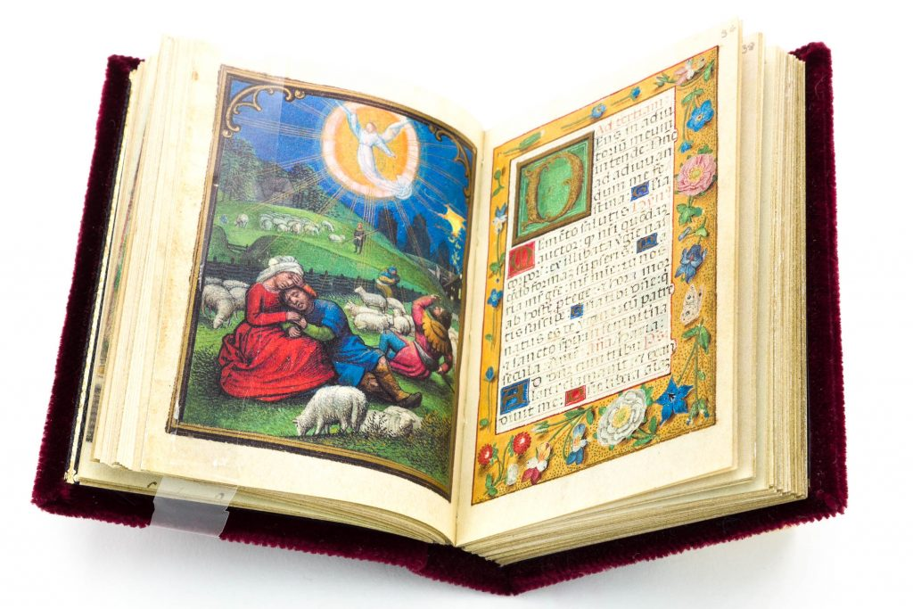 Example of the use of landscape by Simon Bening