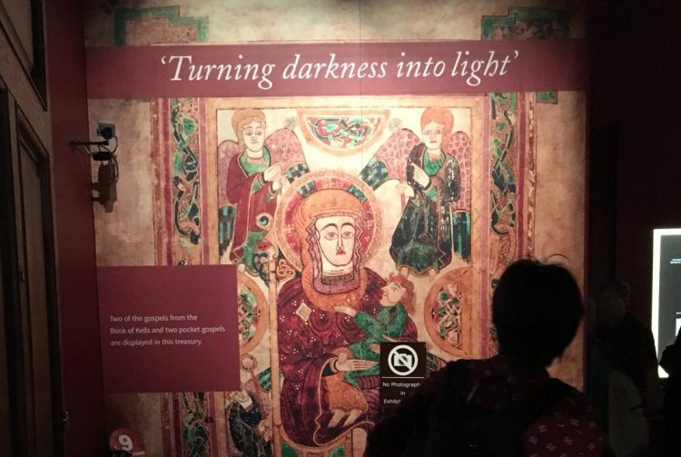 Book of Kells in the Trinity College