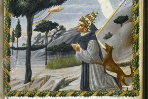 Detail of the Vaticinia Pontificum