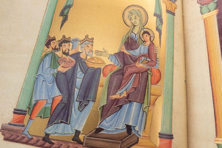 Detail of the Reichenau Pericopes Book