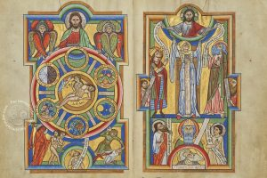 Full-page opening of the Stammheim Missal