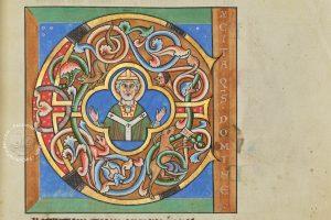 Details of the Stammheim Missal's decoration