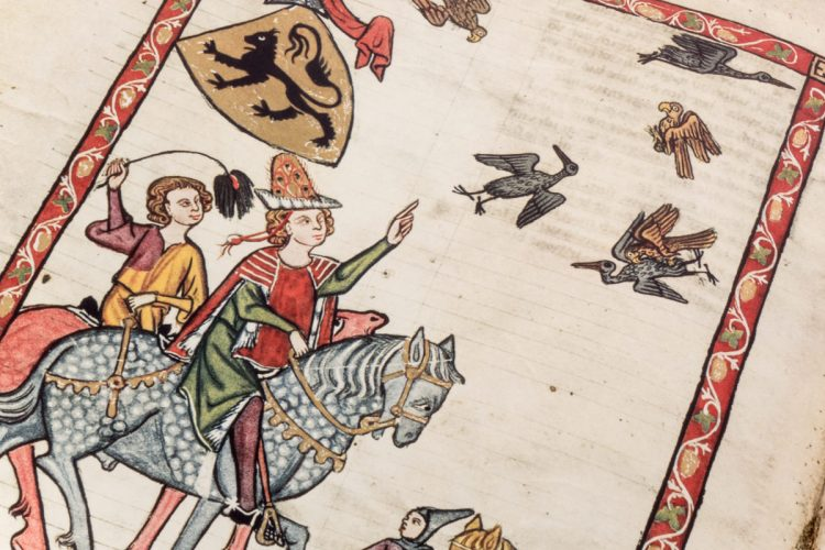 Detail of the Codex Manesse