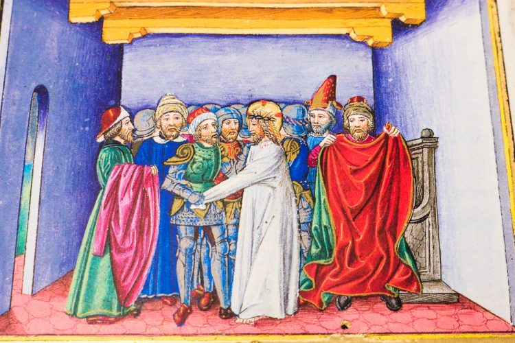 Detail of the Leggendario Sforza-Savoia