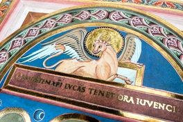 Detail of the Codex Aureus of Echternach