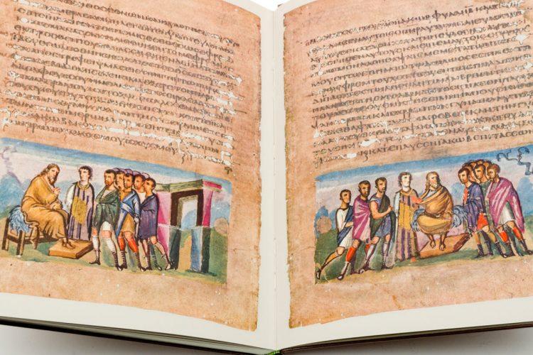 Detail of the Vienna Genesis by Insel Verlag