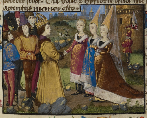 The Emperor Sigismund Arriving in Siena, Unknown, about 1460 - 1470 facsimile finder