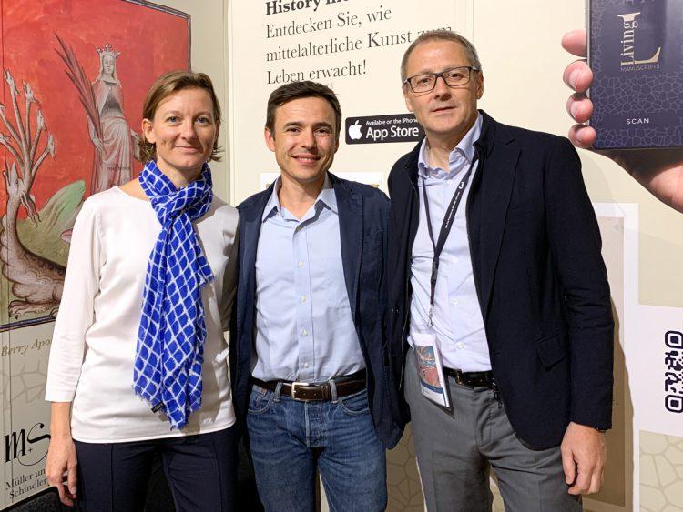 My friends Charlotte Kramer and Javier Zalve from Müller & Schindler