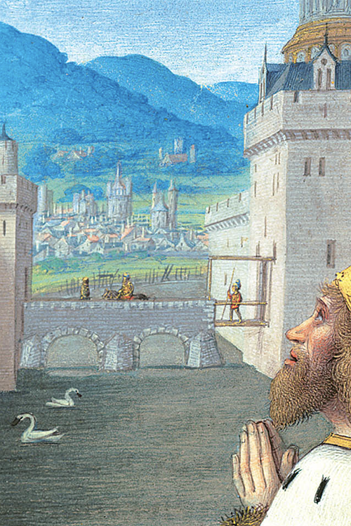 Detail of the Briçonnet Book of Hours (fol.70r.)