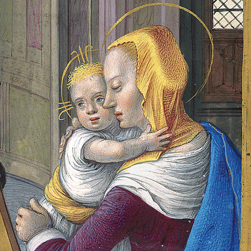 Detail of the Briçonnet Book of Hours