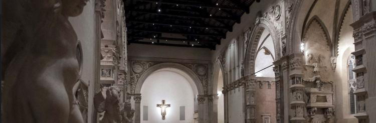 The inside of the Tempio Malatestiano, Rimini