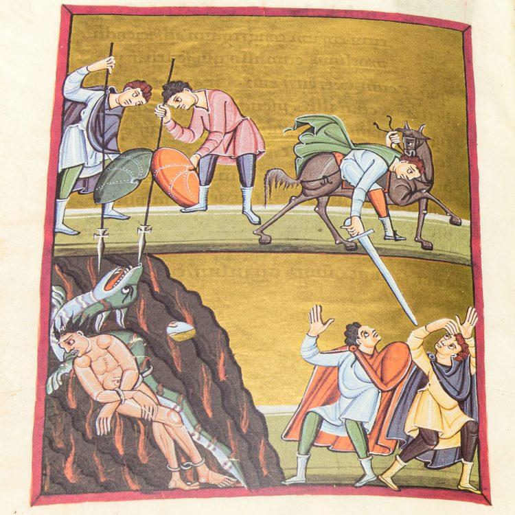 Detail of the Bamberg Apocalypse