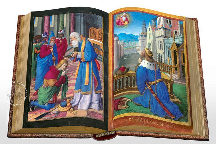 Detail of the Briçonnet Book of Hours (fols. 69v.-70r.)