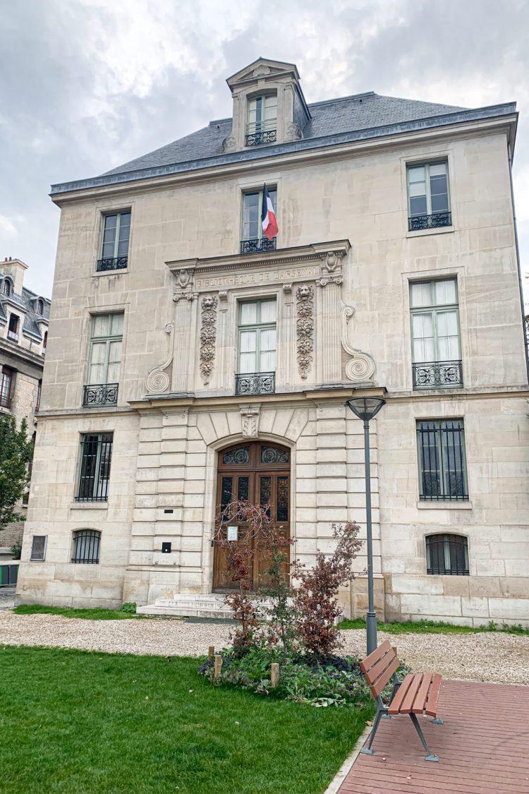 The Bibliothèque de l'Arsenal in Paris