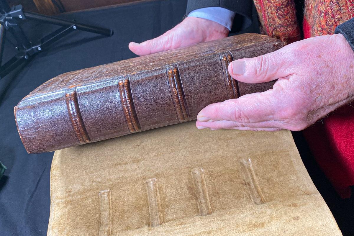 Psalter of Blanche of Castile: binding