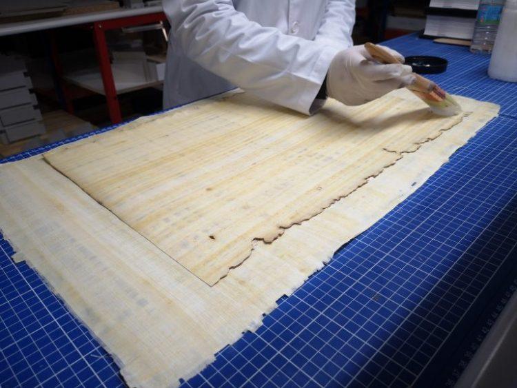 Making the Papyrus Ani facsimile
