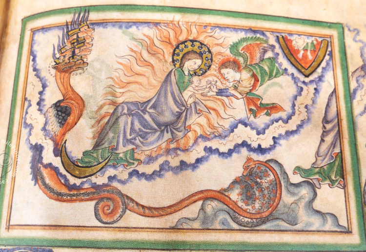 Detail of the Getty Apocalypse