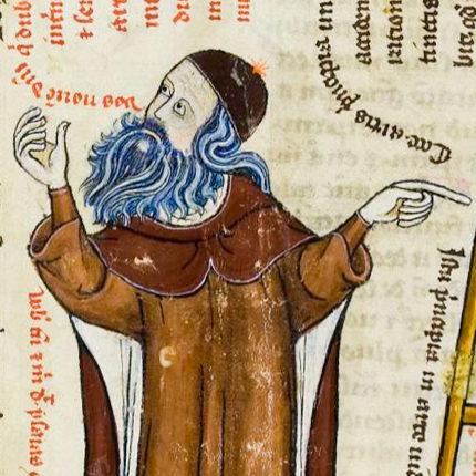 "Llull was known as ""philosophus barbatus"" (bearded philosopher)."