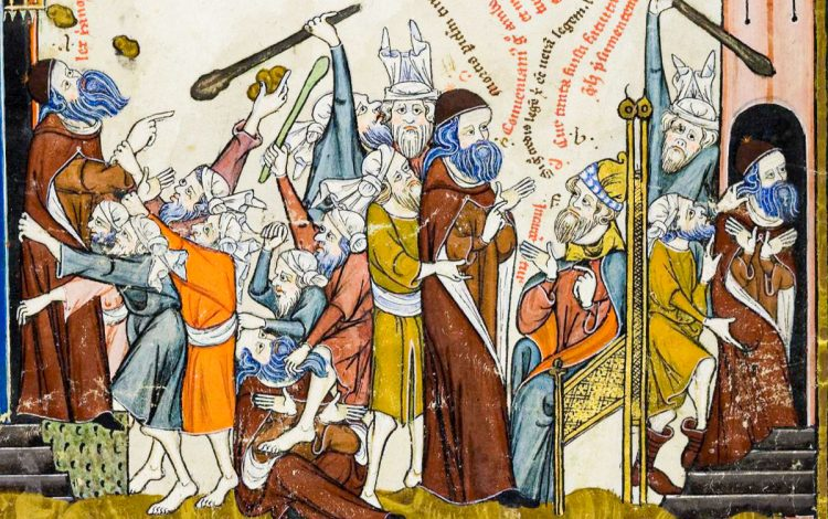According to legend, Ramon Llull was stoned to death by Muslims in what is modern-day Algeria
