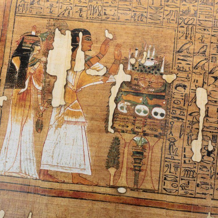 Detail of the Papyrus Ani facsimile
