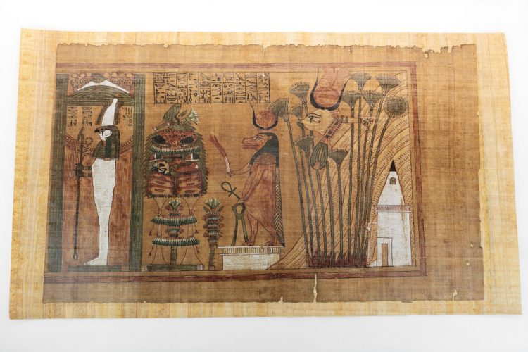 Detail of the Papyrus Ani facsimile