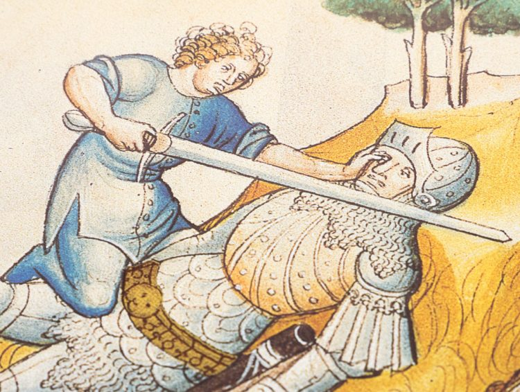 Detail of the Speculum Humanae Salvationis by Edilan